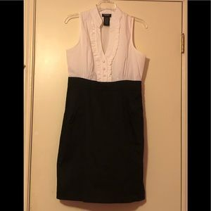 Women's Black and White Dress Size 9/10